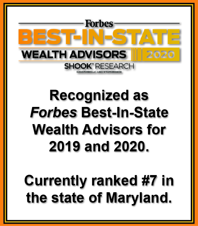 Forbes Best-In-State 2020 - #7 in Maryland